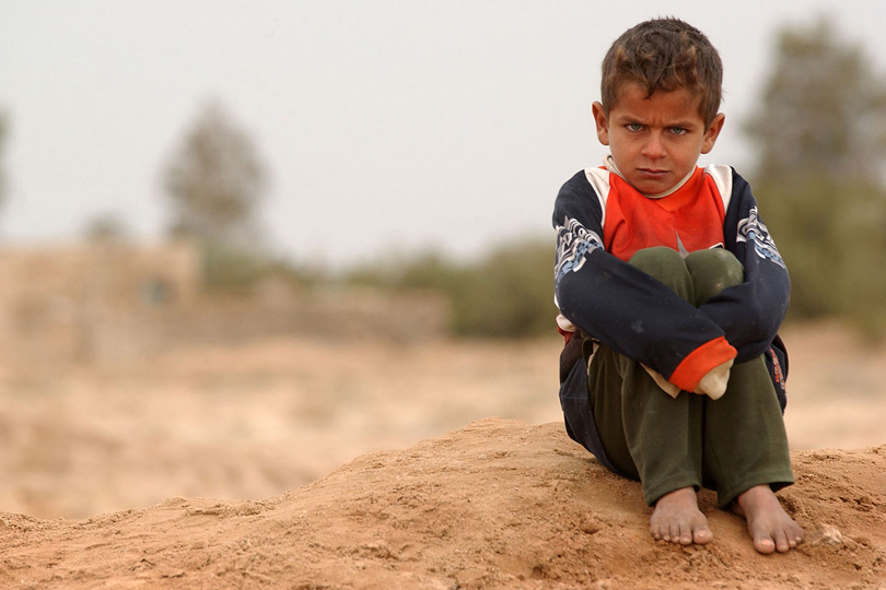 أطفال العراق.. أول ضحايا الفقر في ظل جائحة كورونا