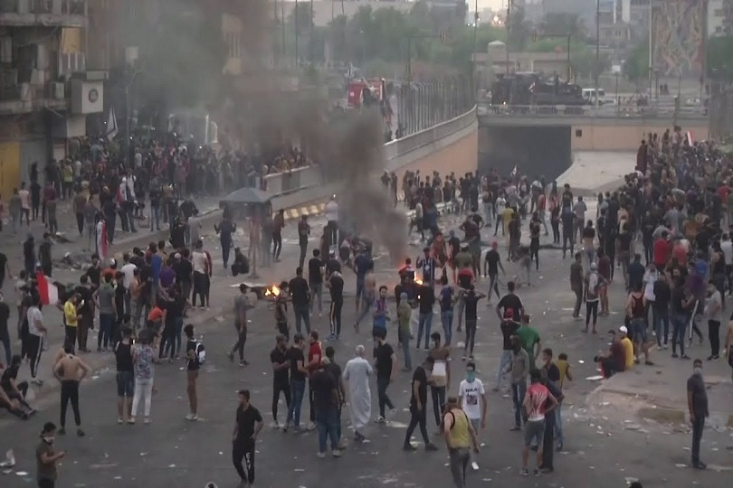 تظاهرات تشرين.. ثورة لا تموت وثائر لا يفنى