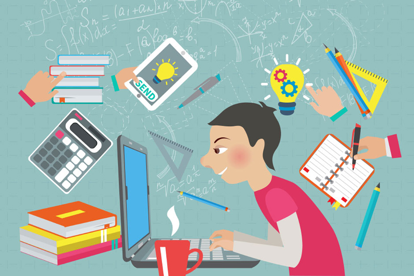 استطلاع رأي.. هل أدى التعليم الالكتروني سد حاجة الطالب اليوم؟