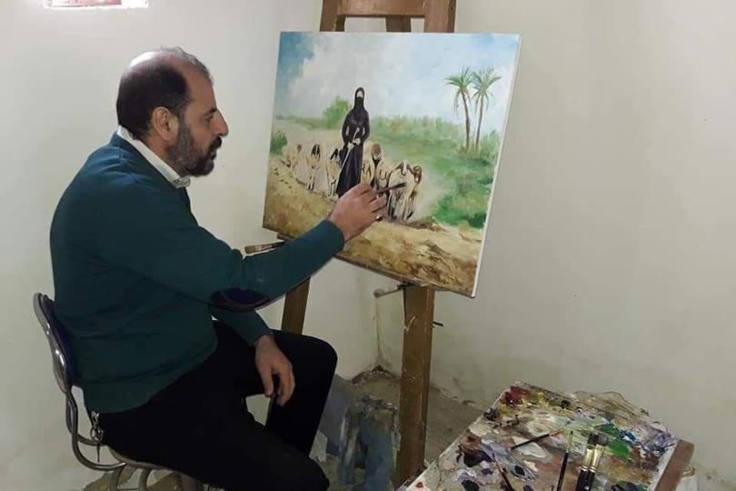 رائد محمد: الرسم جعلني أنظر للكون بمنظار آخر