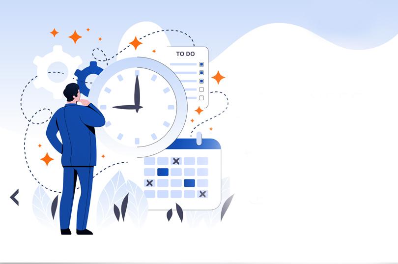 في إدارة الاعمال: سيطر على الفواصل الزمنية