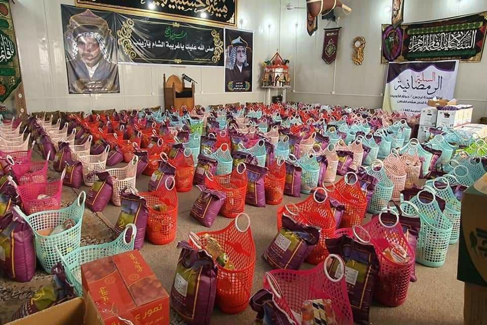 من بركات الشهر الفضيل.. سلّة رمضان أنموذجا للعطاء والإيثار