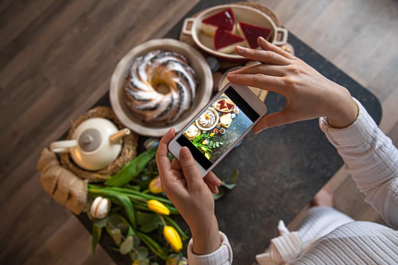 فن الطبخ وهوس النساء على مواقع التواصل الإجتماعي