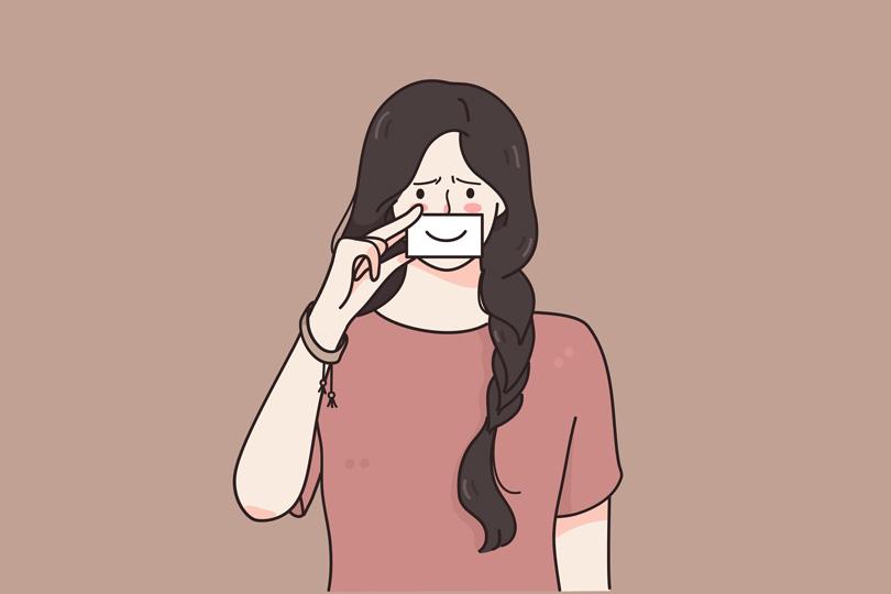 ماذا تعرف عن الإكتئاب المبتسم؟