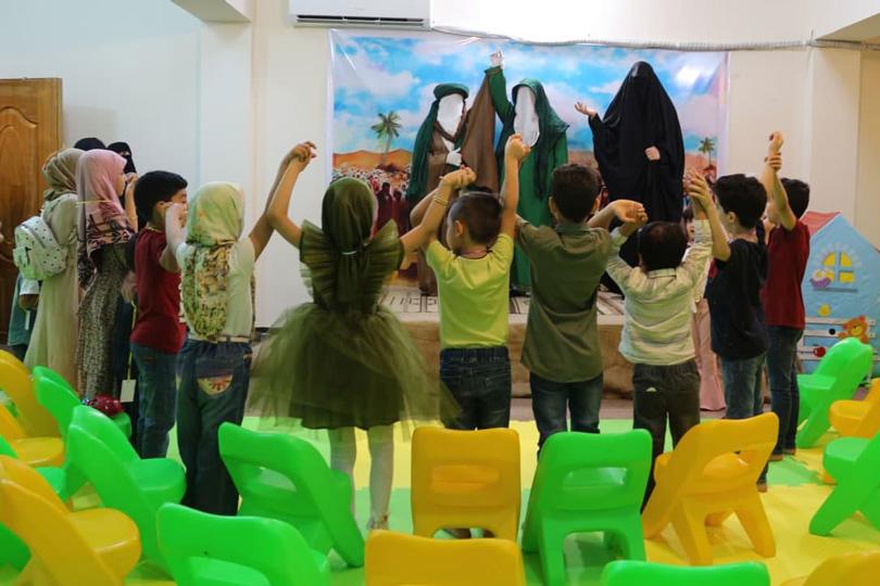 بذرة الغدير في تراب الأطفال.. برنامج معهد نور العترة
