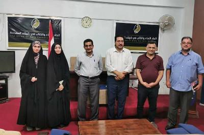 اتحاد أدباء كربلاء ينتخب عضوات منتدى الأدب النسوي