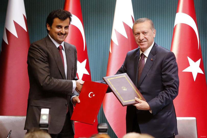 تركيا وقطر، نواة حلف ناهض