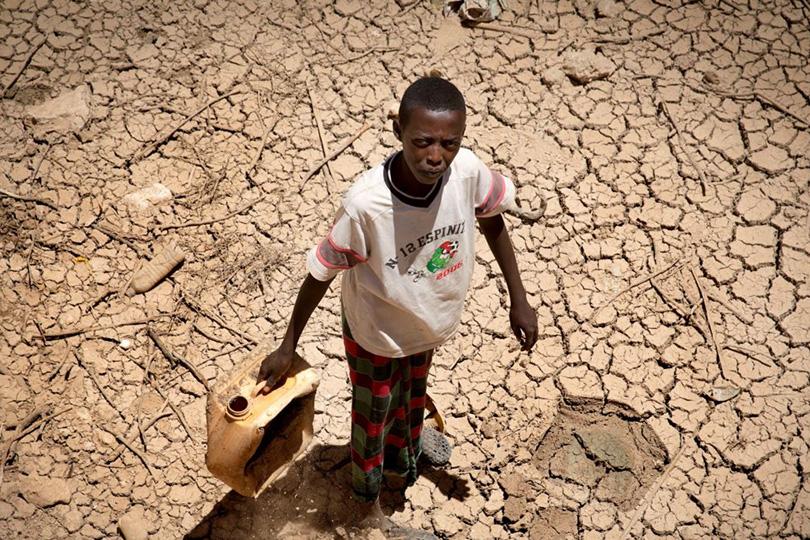 Засуха и голод в Сомали.