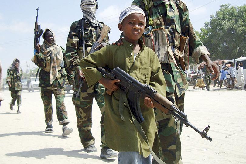 Дети-солдаты и жизнь с оружием.