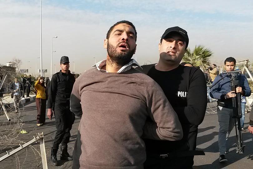 Произвольные аресты в Египте стали хронической проблемой.