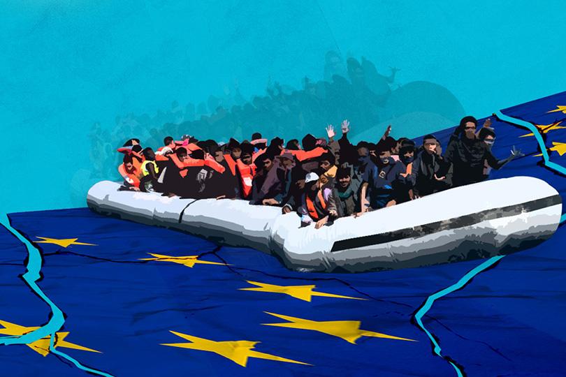 17f0f6d708002 في ملف الهجرة الساخن  صقور أوروبا تعجل من إعادة الكارثة