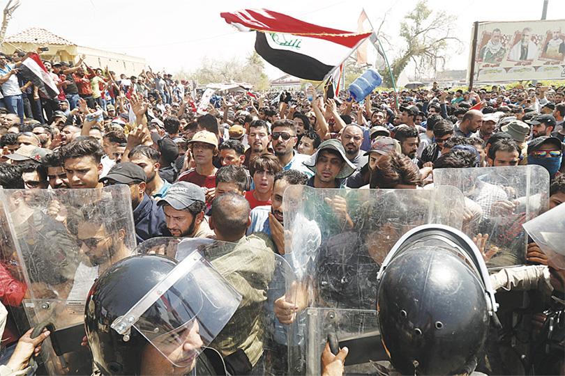 Борьба за власть и уличные протесты в Ираке.