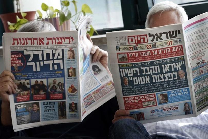 Ложь сионистских СМИ.