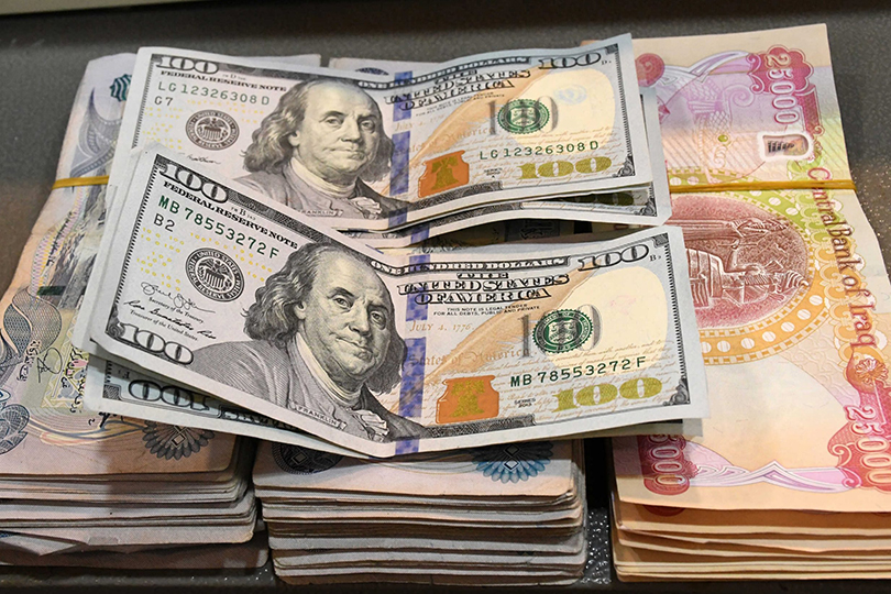 What are the implications of raising the value of the dollar against the Iraqi dinar? 60c1588699c13