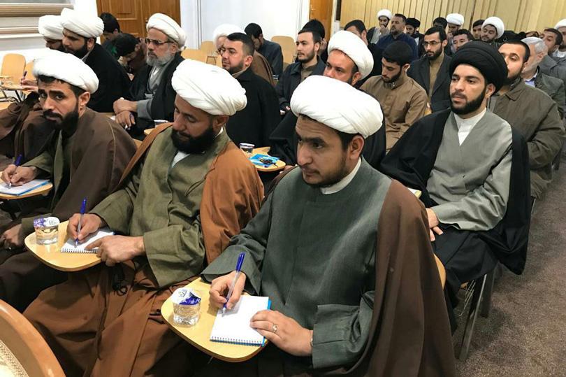 كان الشيخ شريف العلماء لا يكلّ من الدرس والتدريس حتى في شهر رمضان المبارك