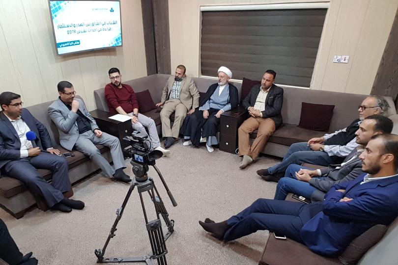 العراق دخل ضمن الهبة الديمغرافية، التي تعني أن جزء كبير من السكان تصل إلى (50%) هم من فئة الشباب