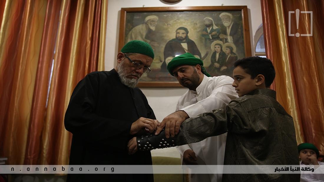 الاطفال دورهم أساسي في مسيرة العزاء الحسيني