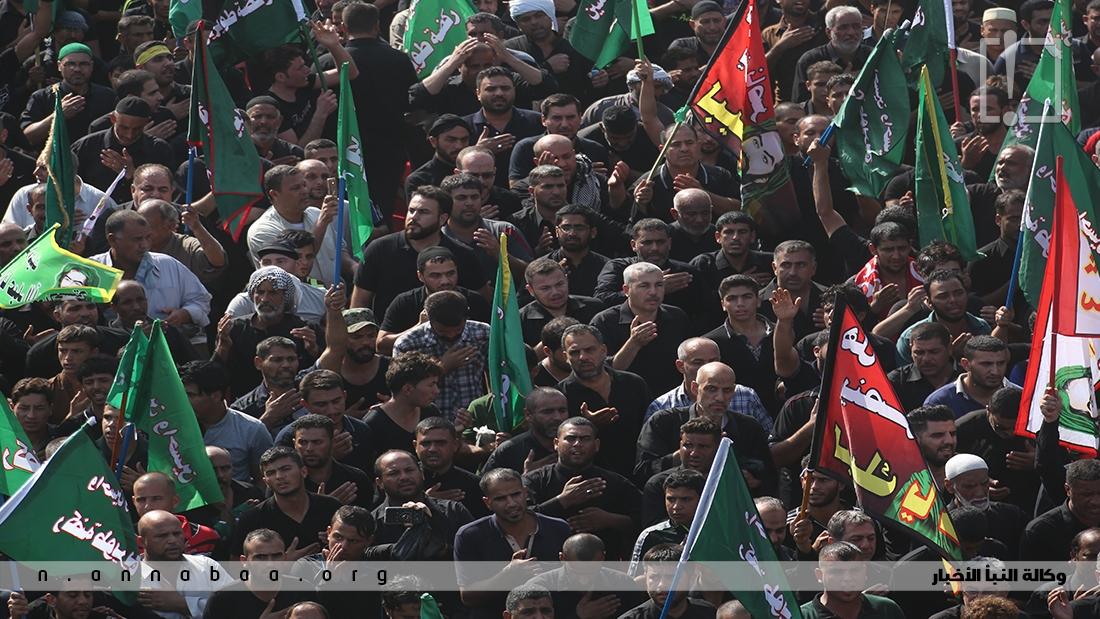 جانب من الحشود المشاركة في عزاء ركضة طويريج