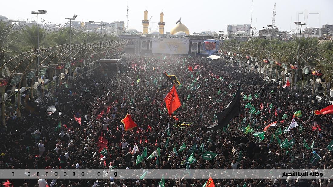 في كل عام يشارك الملايين في هذا العزاء أغلبهم من العراق وخاصة اهالي كربلاء المقدسة