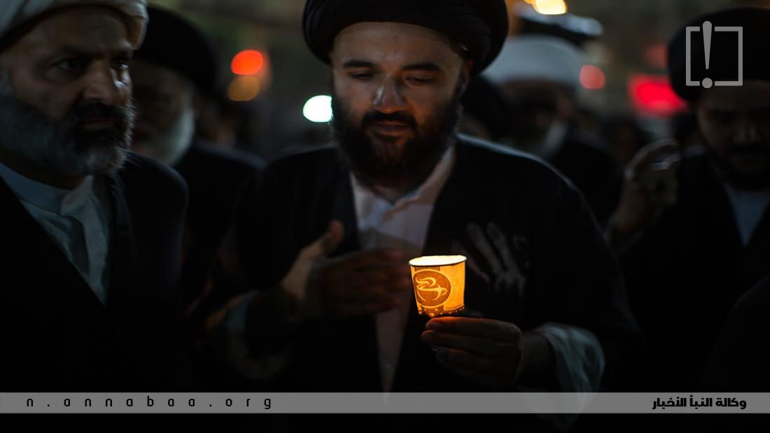 الحزن في ليلة الوحشة على فقد ابا عبد الله هو السمة الغالبة على هذه الليلة الكئيبة