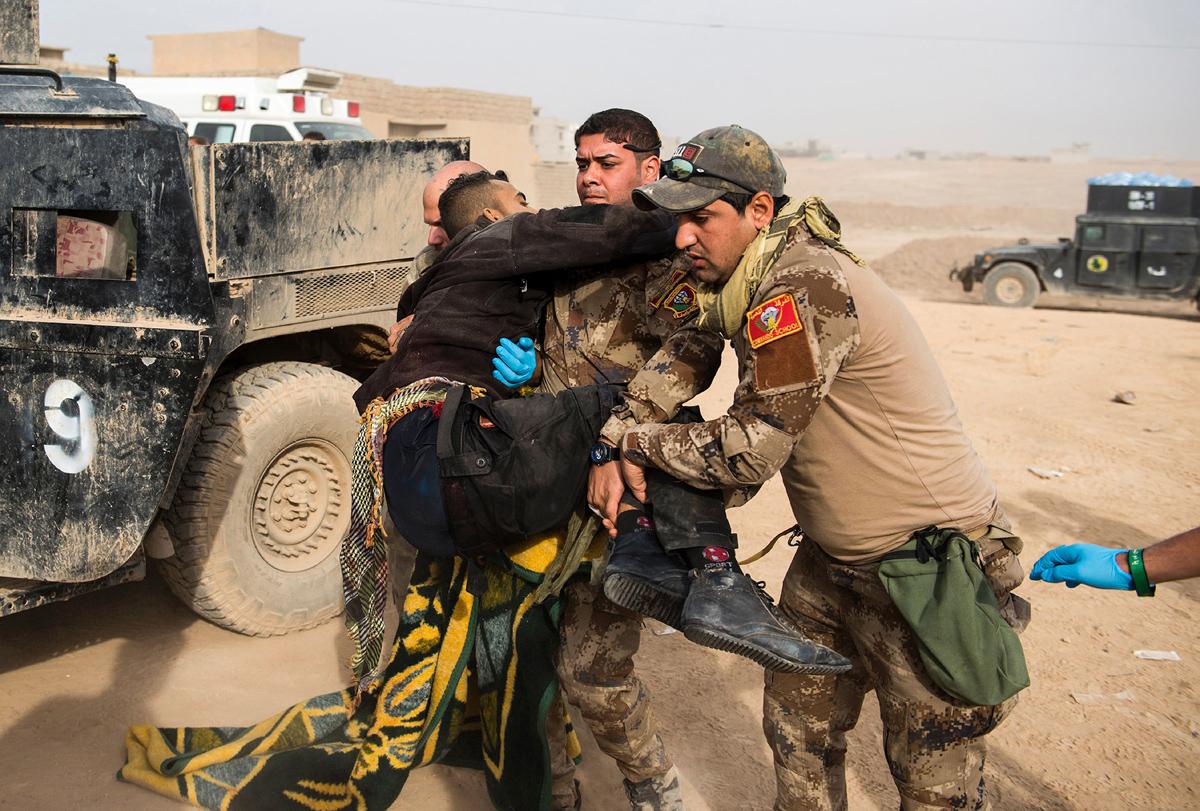 (صورة 5) قام ارهابيو داعش بقصف المدنيين بقذائف الهاون