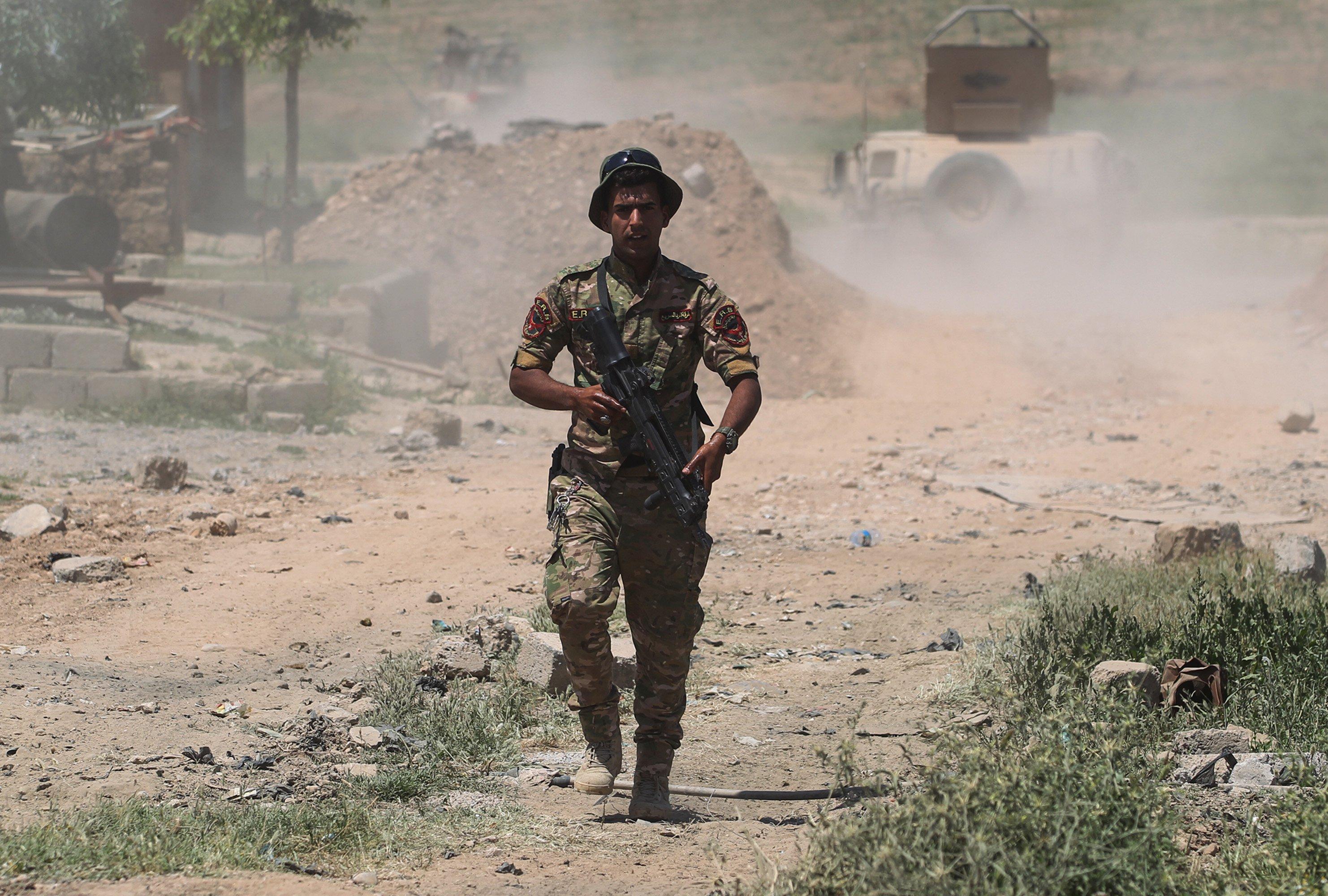 يتميز افراد قوات الرد السريع بالتدريب عالي المستوى وفق مناهج حلف الناتو والتسليح المتطور