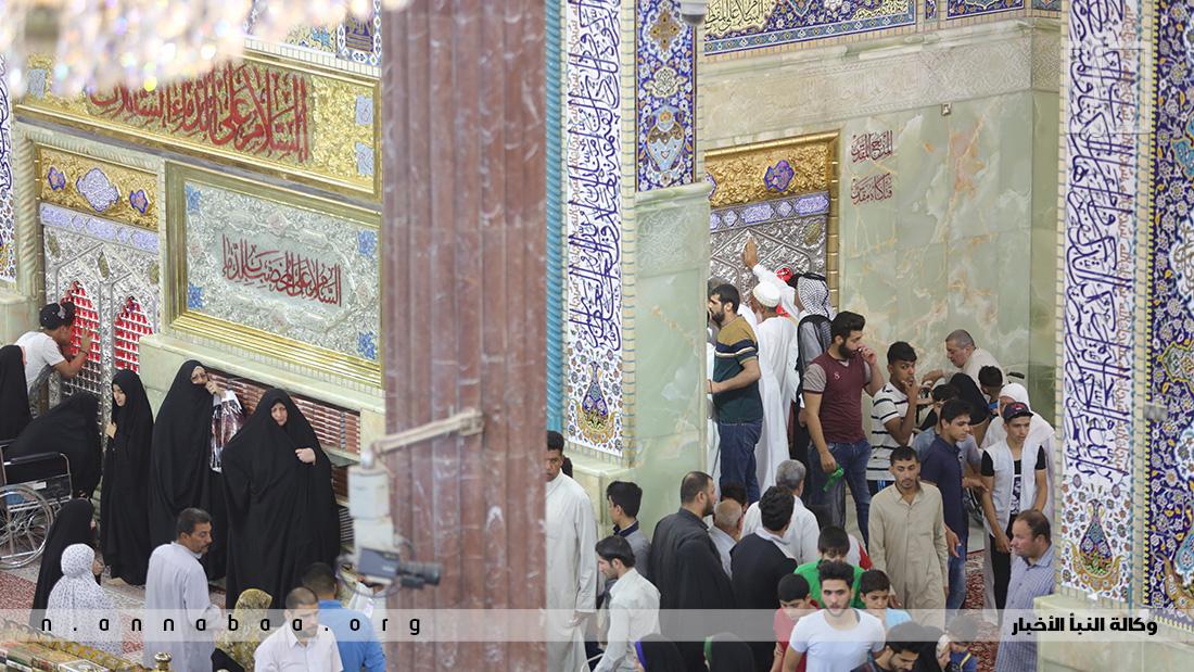 المكان الذي يعتقد ان الامام الحسين بن علي (عليه السلام) قد حز فيه رأسه الشريف على يد اللعين الشمر
