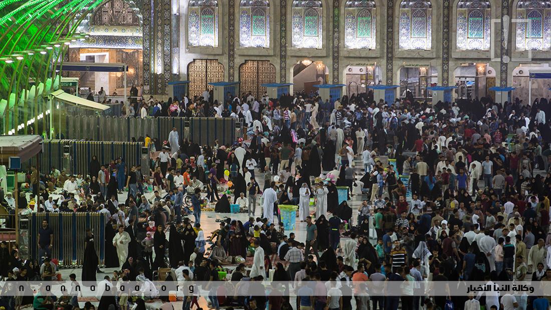 الاسبوع الاخير من شهر رمضان من ارض كربلاء المقدسة