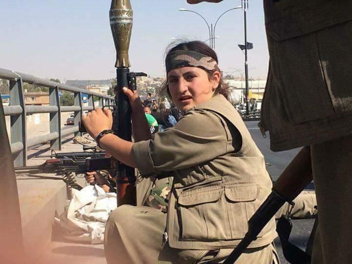 عناصر حزب العمال الكردستاني المصنف إرهابيا في اطراف كركوك بعدما استقدمهم بارزاني