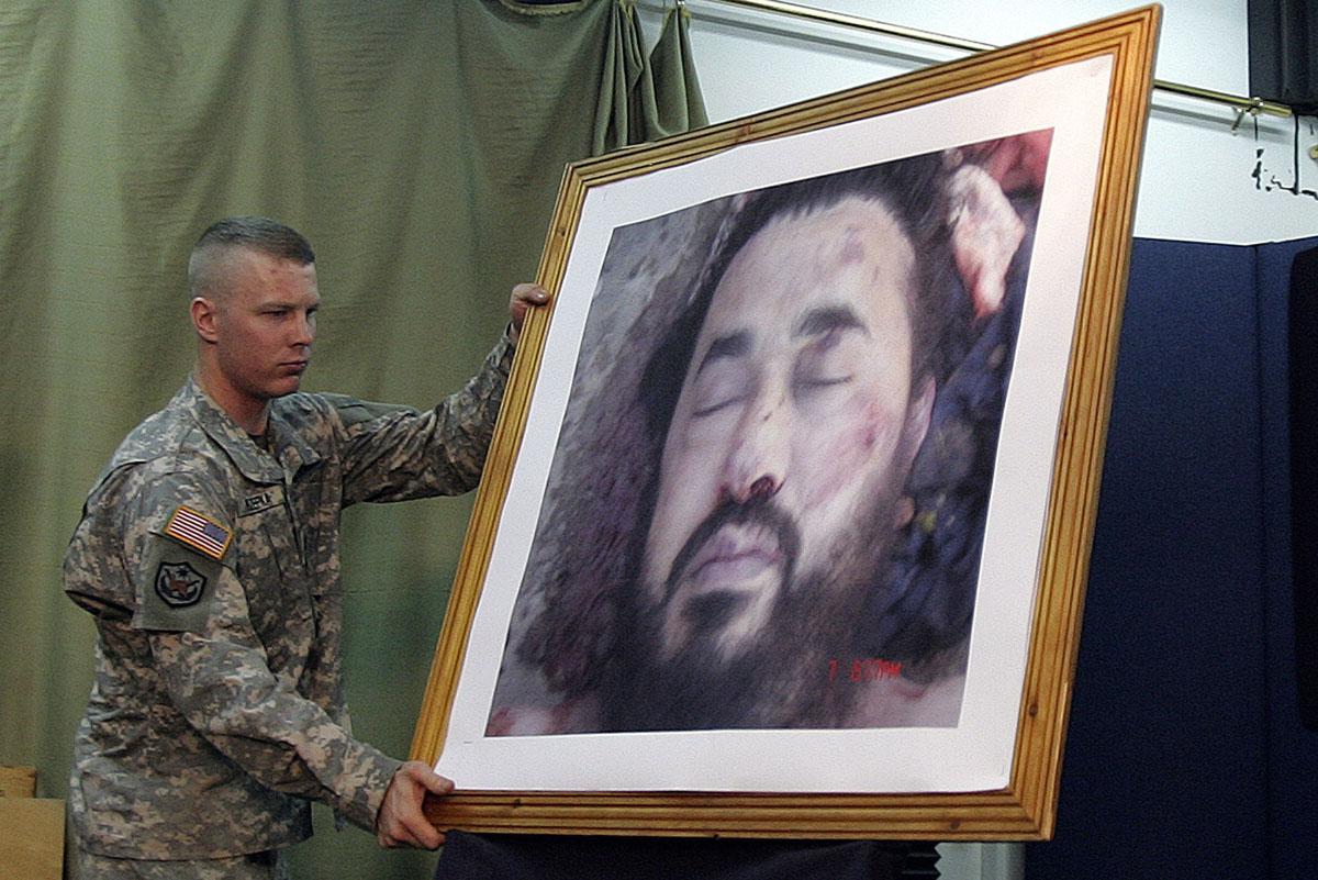 الاعلان عن مقتل زعيم الارهاب في العراق يوم الثامن من تموز 2006