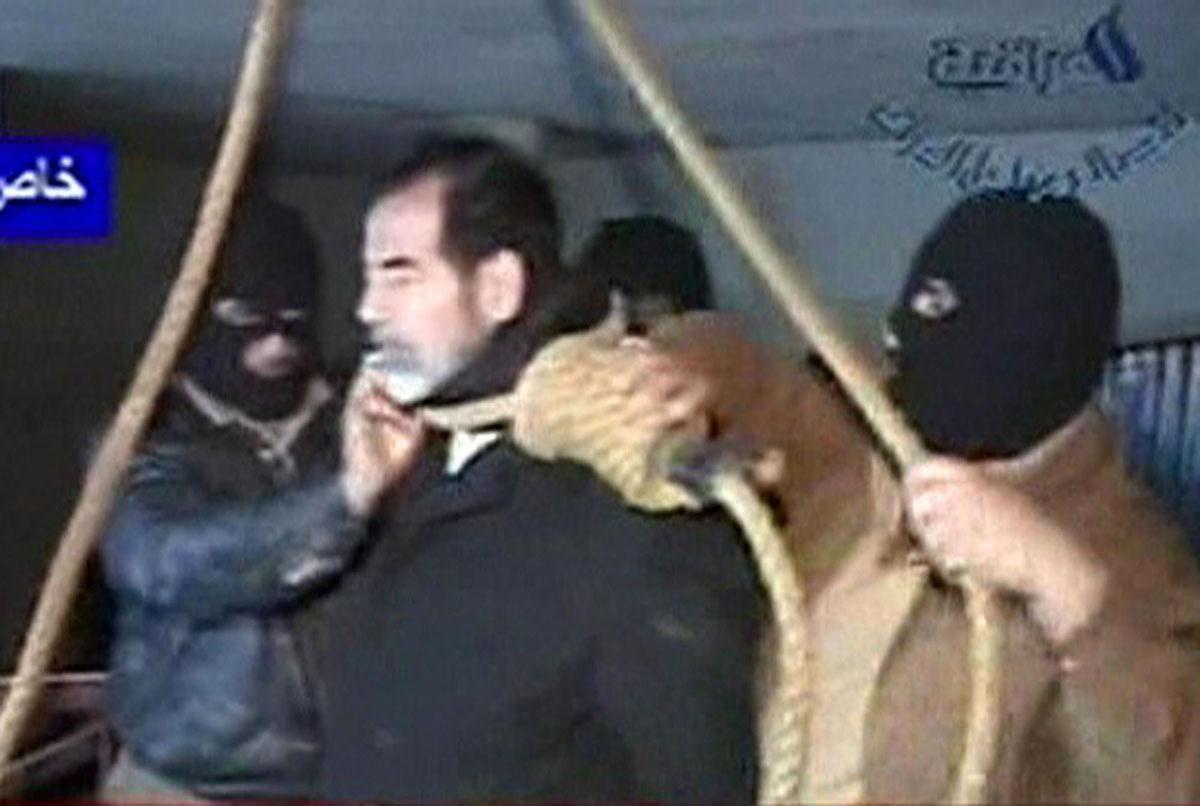 اعدام رئيس النظام الدكتاتوري في 30 ديسمبر 2006