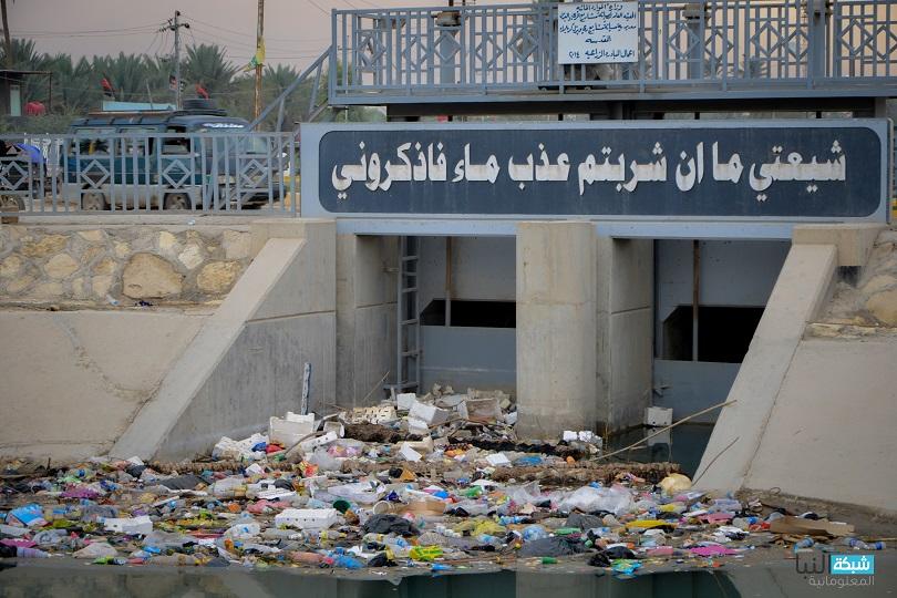 Жители Ирака утопают в мусоре.