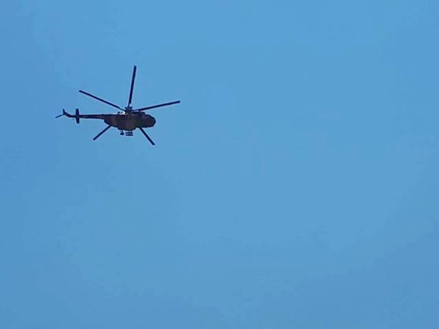 طيران الجيش يحلق في اجواء شمال البصرة