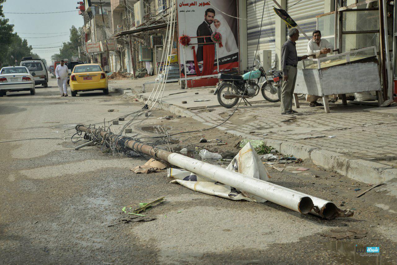 أكدت مديرية صحة محافظة النجف، وفاة شخص وإصابة 20 آخرين