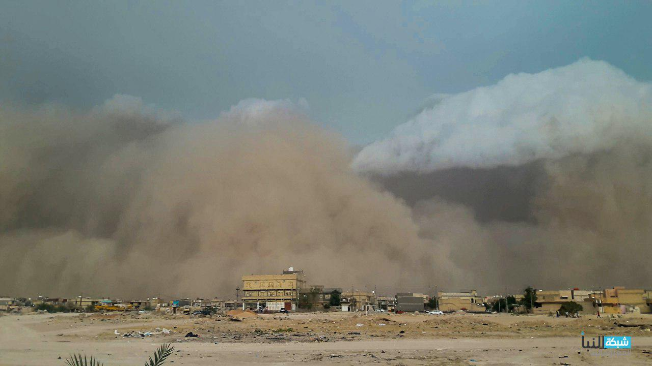 تعرضت مدينة كربلاء الى عاصفة ترابية شديدة لم تشهدها منذ سنوات طويلة