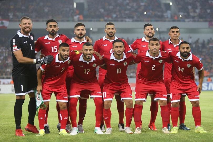المنتخب اللبناني بكرة القدم