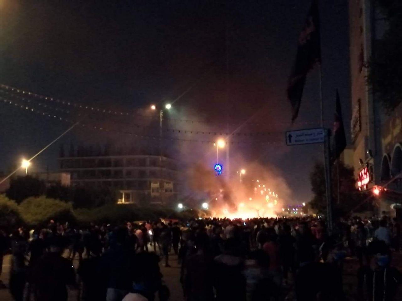 #العراق_يحترق..كربلاء صارت كربلاء