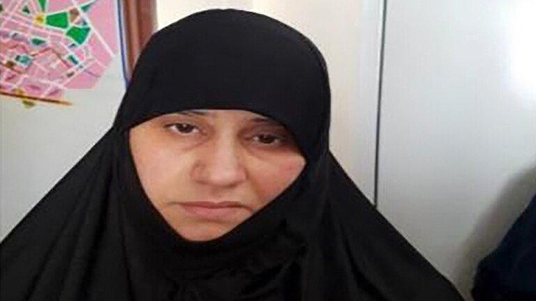 زوجة البغدادي أسماء الكبيسي