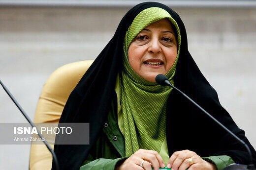 مساعدة الرئيس الإيراني معصومة ابتكار