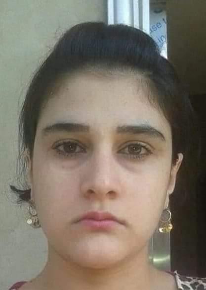 الفتاة الايزيدية حلا التي يطالب عناصر داعش بتسليمها