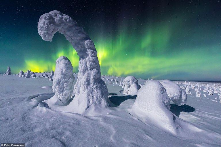 التقطت إجمل  صور الشفق القطبي من جميع أنحاء العالم  لعام 2020، ، وهي جزء من مجموعة من صور الطبيعة التي يتم تنسيقها كل عام بواسطة جمعية المصورين العالميين، التقط المصورون الصور المذهلة في دول مثل النرويج وأيسلندا وروسيا والولايات المتحدة، ومن المؤكد أنها ستجعل عينيك تضيء.