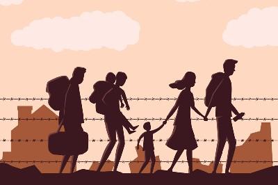 اللاجئون.. بين مواجهة الموت وأزمة كورونا