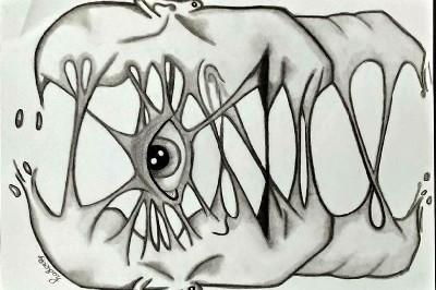 هدير حسام: الرسم رسالة انسانية