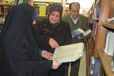 رحيل أمينة المكتبة المركزية في البصرة التي أنقذت كتب العراق